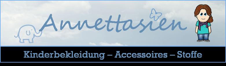 Annettasien - Kinderbekleidung Accessoires Stoffe
